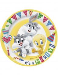 10 Baby Looney Tunes™ kartonnen borden