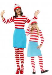 Moeder en dochter Waar is Wally™ kostuums