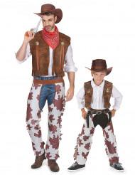 Cowboy kostuum Vader en Zoon