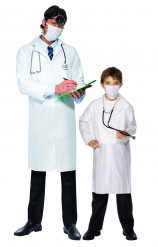 Vader en zon dokter outfit