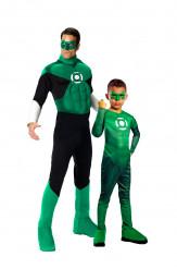 Green Lantern™ kostuums vader en zoon