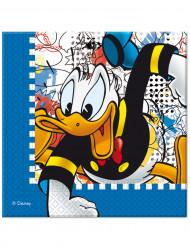 20 papieren Donald™ servetten
