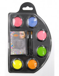 Waterbasis fluo make up set