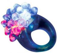 Blauw magische ring met licht