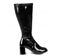 Zwarte disco laarzen