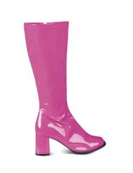 Roze discolaarzen voor vrouwen