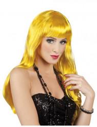 Lange gele pruik voor vrouwen