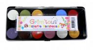 Schminkpalet kermis 12 kleuren - Grim Tout