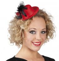Rood hoedje voor dames