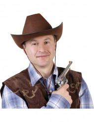 Bruin cowboy hoed volwassenen