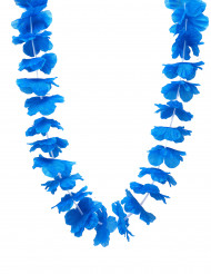 Blauwe hawiaanse krans