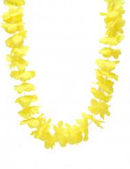 Gele Hawaii ketting