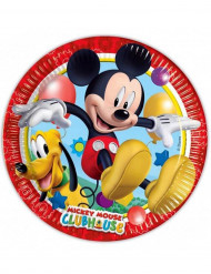 8 kartonnen Mickey Mouse™ bordjes