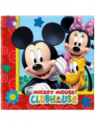 20 Papieren Mickey Mouse™ servetten