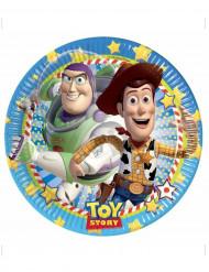 8 Kartonnen bordjes Toy Story ™