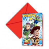 Uitnodigingen met envelop Toy Story Star Power™