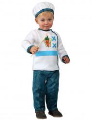 Kok kostuum voor baby