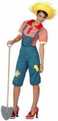Boerin kostuum voor dames