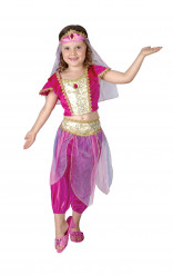 Oosterse danseressenkostuum voor meisjes