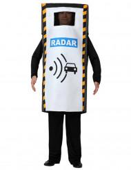 Radar flitspaal kostuum voor volwassenen