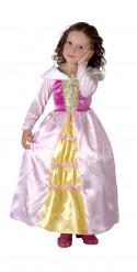 Satijnachtige prinses doornroosje outfit voor meisjes