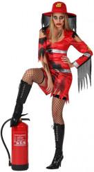 Zombie brandweer Vrouw