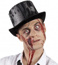 Zombie hoge hoed voor volwassenen