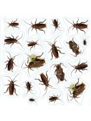 Insecten stickers Halloween artikel