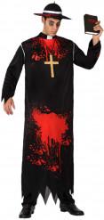 Verkleedkostuum gelovige zombie voor heren Halloween kledij