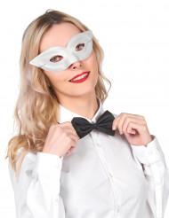 Wit half masker voor volwassenen
