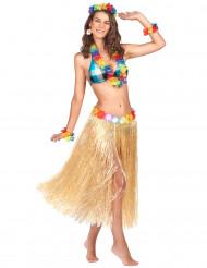 Glanzende Hawaiiaanse rok voor volwassenen