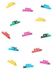 Veelkleurige verjaardag confetti