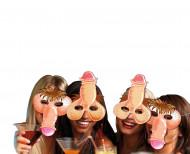 4 grappige penis maskers