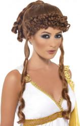 Griekse godin pruik