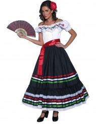 Spaanse senorita danseres kostuum voor vrouwen