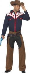 Amerikaans cowboy kostuum voor heren
