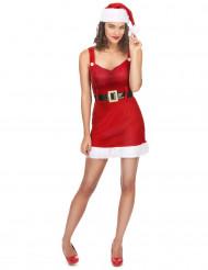 Sexy kerstvrouw kostuum voor dames