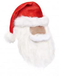 Kerstmuts voor volwassenen in het rood