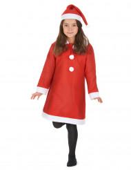 Verkleedpak Kerstvrouw voor meisjes