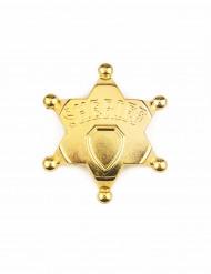 Goudkleurige sheriffster