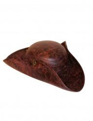 Bruine nepleren piraten hoed voor volwassenen