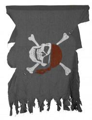 Versleten piraten vlag