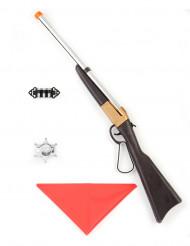 Cowboy set met geweer voor volwassenen