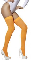 Sexy oranje kousen