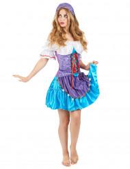 Luxe zigeuner kostuum voor vrouwen