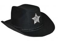 Zwart cowboy hoed