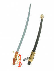Zwarte musketier zwaard