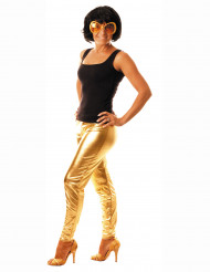 Legging goudkleurig