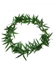 Groen hawaii bladeren ketting