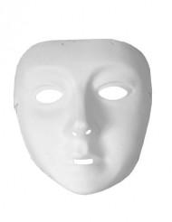 Wit masker voor kinderen